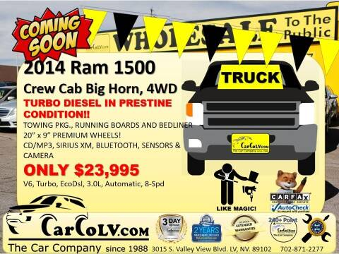 2014 RAM Ram Pickup 1500 for sale at The Car Company in Las Vegas NV