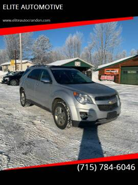 2012 Chevrolet Equinox for sale at ELITE AUTOMOTIVE in Crandon WI