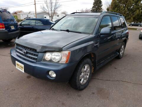 2003 Toyota Highlander for sale at Wolf's Auto Inc. in Great Falls MT