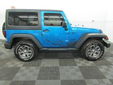 2015 Jeep Wrangler for sale at Michigan Credit Kings in South Haven MI