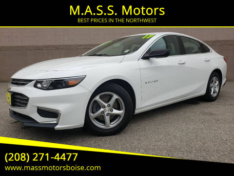 2017 Chevrolet Malibu for sale at M.A.S.S. Motors in Boise ID