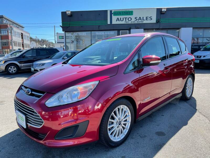 2014 Ford C-MAX Hybrid for sale at Wakefield Auto Sales of Main Street Inc. in Wakefield MA
