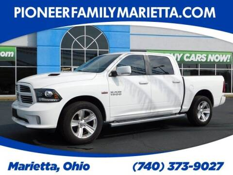 2016 RAM Ram Pickup 1500 for sale at Pioneer Family preowned autos in Williamstown WV