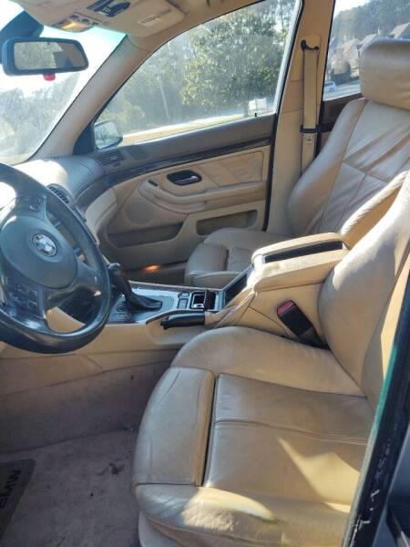 2002 BMW 5 Series 540i 4dr Sedan - Mableton GA