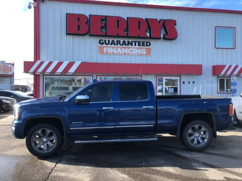 2016 GMC Sierra 1500 for sale at Berry's Cherries Auto in Billings MT