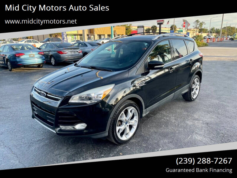 2013 Ford Escape for sale at Mid City Motors Auto Sales in Fort Myers FL