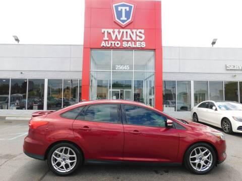 2015 Ford Focus for sale at Twins Auto Sales Inc Redford 1 in Redford MI