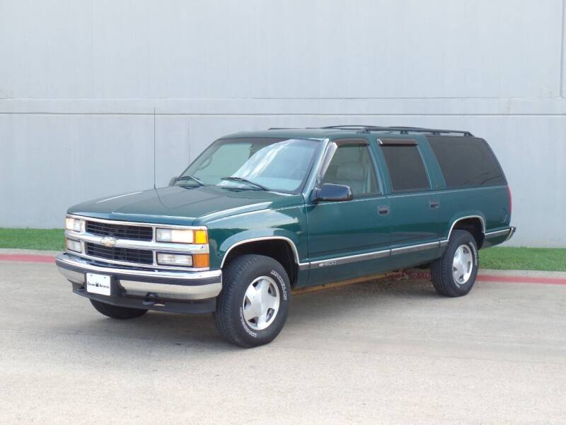1999 Chevrolet Suburban for sale at CROWN AUTOPLEX in Arlington TX