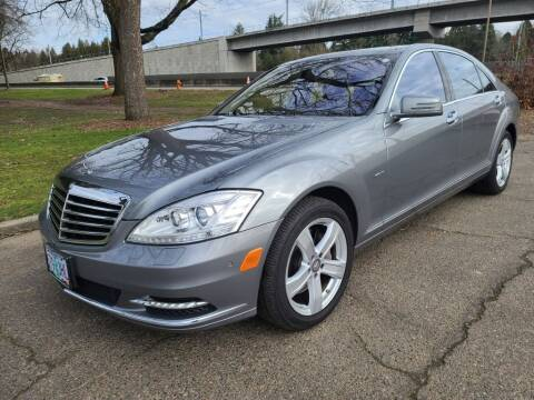 2012 Mercedes-Benz S-Class for sale at EXECUTIVE AUTOSPORT in Portland OR