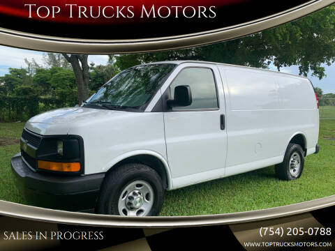 2017 Chevrolet Express Cargo for sale at Top Trucks Motors in Pompano Beach FL