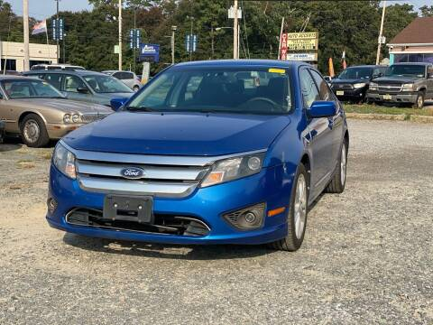 2012 Ford Fusion for sale at CRS 1 LLC in Lakewood NJ