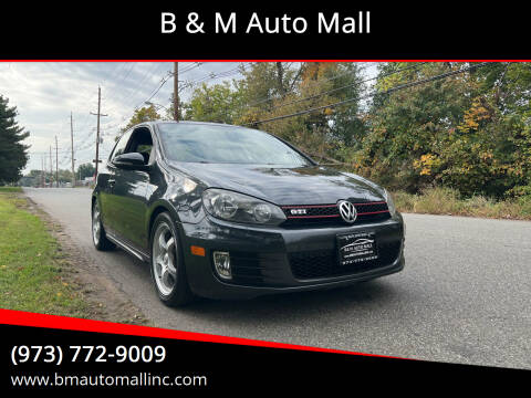 2011 Volkswagen GTI for sale at B & M Auto Mall in Clifton NJ