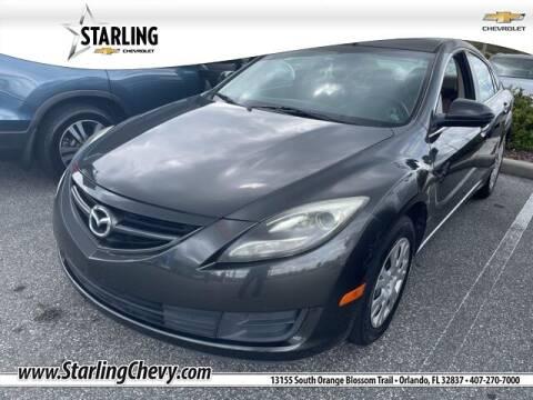 2012 Mazda MAZDA6 for sale at Pedro @ Starling Chevrolet in Orlando FL