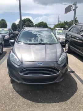 2014 Ford Fiesta for sale at DAN'S DEALS ON WHEELS AUTO SALES, INC. in Davie FL