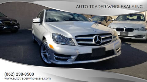 2013 Mercedes-Benz C-Class for sale at Auto Trader Wholesale Inc in Saddle Brook NJ