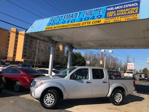 2014 Nissan Frontier for sale at Auto Smart Charlotte in Charlotte NC