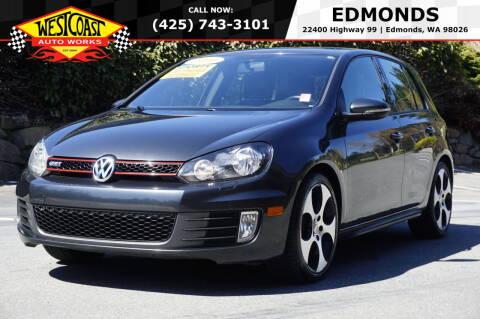 2010 Volkswagen GTI for sale at West Coast Auto Works in Edmonds WA