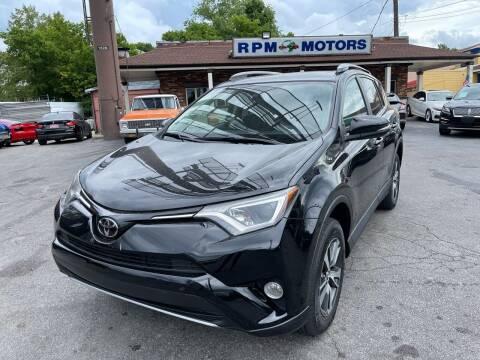 2017 Toyota RAV4 for sale at RPM Motors in Nashville TN