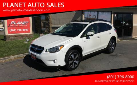 2014 Subaru XV Crosstrek for sale at PLANET AUTO SALES in Lindon UT