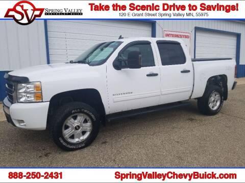 2011 Chevrolet Silverado 1500 for sale at Spring Valley Chevrolet Buick in Spring Valley MN