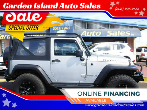 2010 Jeep Wrangler for sale at Garden Island Auto Sales in Lihue HI