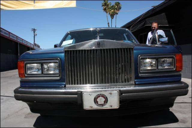 1989 Rolls-Royce Silver Spur for sale at Frank Corrente Cadillac Corner in Hollywood CA
