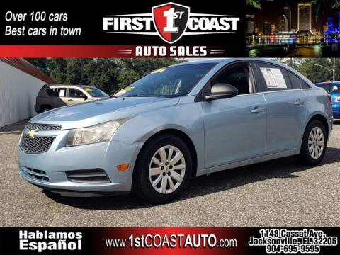2011 Chevrolet Cruze for sale at 1st Coast Auto -Cassat Avenue in Jacksonville FL