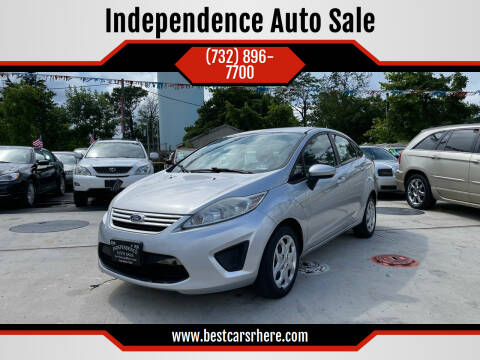 2012 Ford Fiesta for sale at Independence Auto Sale in Bordentown NJ