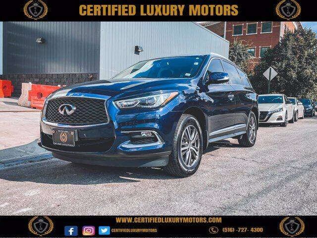 2018 Infiniti QX60 for sale at CERTIFIED LUXURY MOTORS OF QUEENS in Elmhurst NY