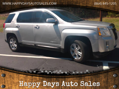 2013 GMC Terrain for sale at Happy Days Auto Sales in Piedmont SC