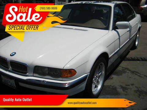 2000 BMW 7 Series for sale at Quality Auto Outlet in Vista CA