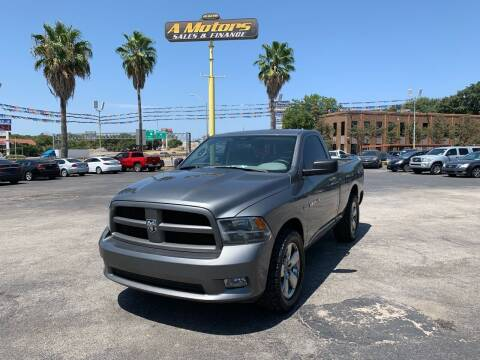 2012 RAM Ram Pickup 1500 for sale at A MOTORS SALES AND FINANCE in San Antonio TX