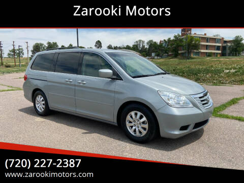 2009 Honda Odyssey for sale at Zarooki Motors in Englewood CO