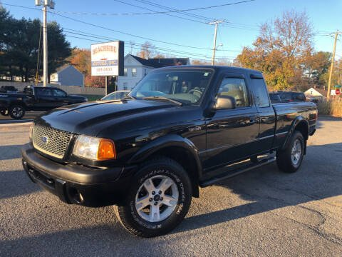 2002 Ford Ranger for sale at Beachside Motors, Inc. in Ludlow MA