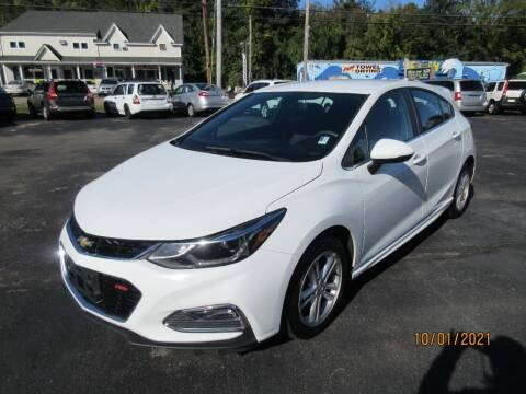 2017 Chevrolet Cruze for sale at Route 12 Auto Sales in Leominster MA