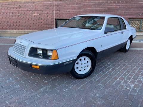 1984 Ford Thunderbird for sale at Euroasian Auto Inc in Wichita KS