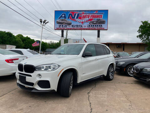 2016 BMW X5 for sale at ANF AUTO FINANCE in Houston TX