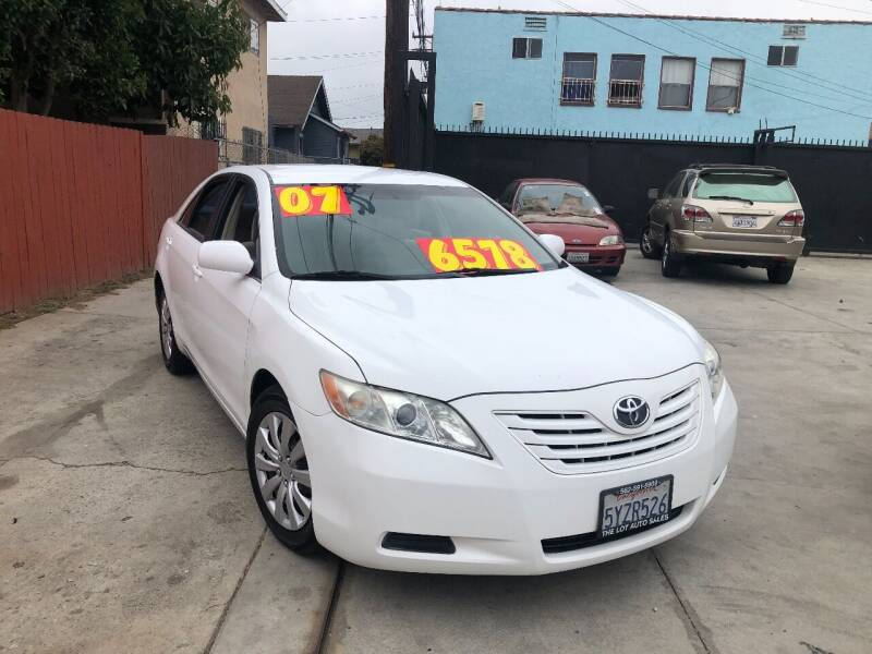 2007 Toyota Camry for sale at The Lot Auto Sales in Long Beach CA