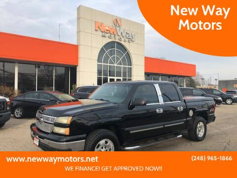 2006 Chevrolet Silverado 1500 for sale at New Way Motors in Ferndale MI