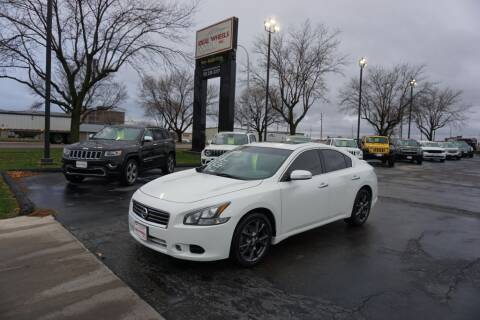 2014 Nissan Maxima for sale at Ideal Wheels in Sioux City IA