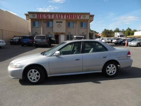 2001 Honda Accord for sale at Best Auto Buy in Las Vegas NV