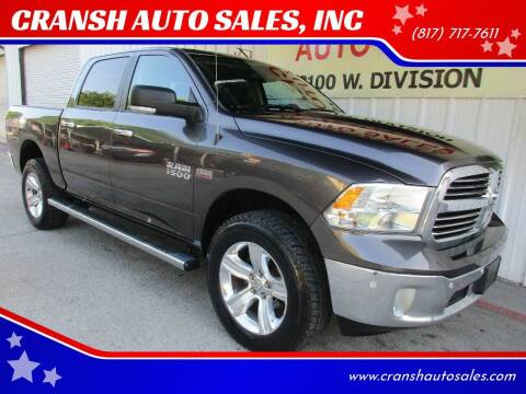 2014 RAM Ram Pickup 1500 for sale at CRANSH AUTO SALES, INC in Arlington TX