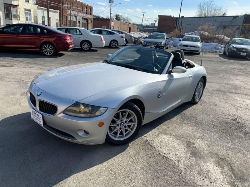2005 BMW Z4 for sale at Bob Karl's Sales & Service in Troy NY