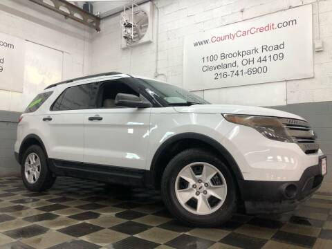 2014 Ford Explorer for sale at County Car Credit in Cleveland OH