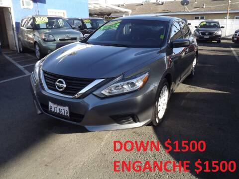 2016 Nissan Altima for sale at PACIFICO AUTO SALES in Santa Ana CA