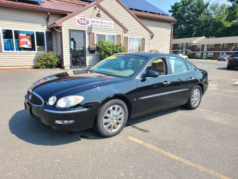 2007 Buick LaCrosse for sale at V & F Auto Sales in Agawam MA