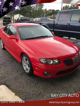 2004 Pontiac GTO for sale at Bay City Auto's in Mobile AL