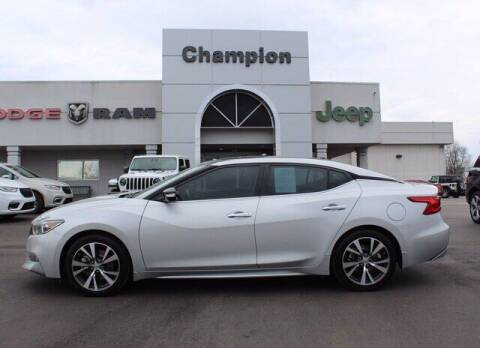 2017 Nissan Maxima for sale at Champion Chevrolet in Athens AL