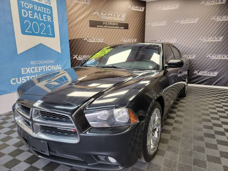 2012 Dodge Charger for sale at X Drive Auto Sales Inc. in Dearborn Heights MI