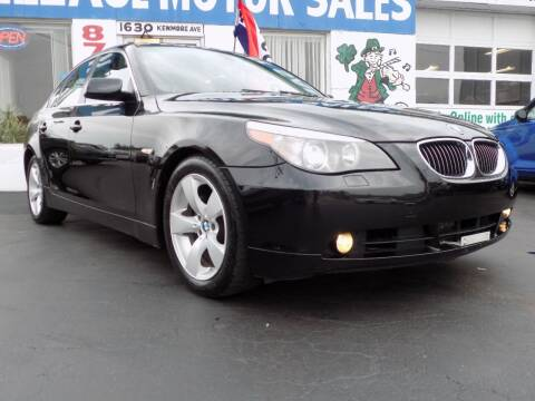 2007 BMW 5 Series for sale at Village Motor Sales in Buffalo NY
